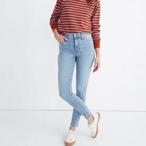 "Madewell 10"" Hi-Rise Skinny Jeans SZ 26"